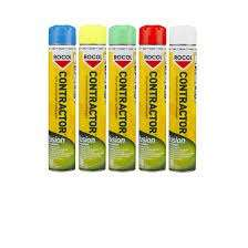 YELLOW PAINT SPRAY CONTRATOR            FUSION 750 ML ROCOL 44081